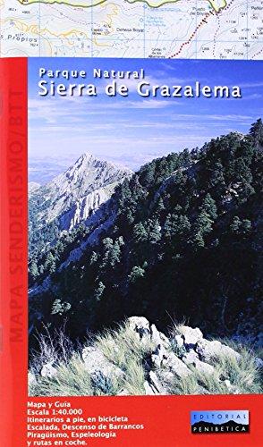 Mapa Parque Natural Sierra de Grazalema. Escala 1:40.000. Editorial Penibética. por VV.AA.