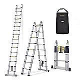 17ft 5m Nordstrand Telescopic Multipurpose Ladder