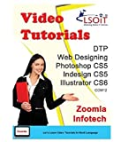 LSOIT DTP + Web Designing Photoshop CS5 + Adobe InDesign CS5 + Adobe Illustrator CS6 Video Tutorials (DVD)