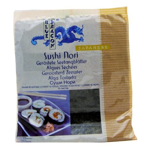 BLUE DRAGON - Nori sushi 22gr d'algues. BLEU DR