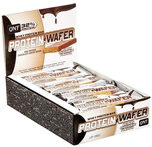 QNT Protein Wafer 32%, Belgian Chocolate (12x 35 g Riegel)