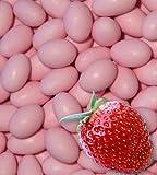 500g Hochzeitsmandeln EinsSein® Erdbeere rosa Schokomandeln Gastgeschenk Hochzeit Zuckermandeln Schokomandeln