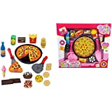 Halo Nation Pizza Cutting Play Toy - Play Food Party Pretend Play Toy For Kids