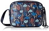 ESPRIT Women's mit praktischem Innenleben Bag, Blue (400 Navy), 7x15x19 cm (b x h x t)