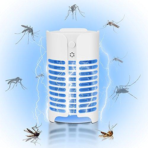 Lámpara Antimosquitos, Eléctrico Mata Moscas, Bug Zappers , Mosquito Killer Lamp Trampa, UV Lámpara Anti-insectos para Mosquitos para los Hogares, Patios, Jardines, Oficinas, Tiendas