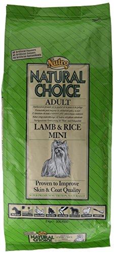 NUTRO natural Choice LAMB & RICE MINI - Comida para perros adultos,...