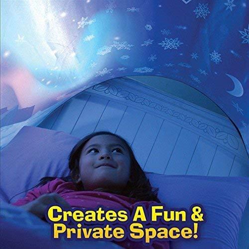 Winter Tunnel Bett Zelt Kinderzimmer Dekoration Wonderland Kinderbett Hochbett Kid's bettzelt für Babybett -
