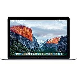 """Apple - MacBook 12"""" (All-in-One Desktop PC, 1.1 GHz, 256 SSD, 8 GB RAM, Intel), Plateado"""