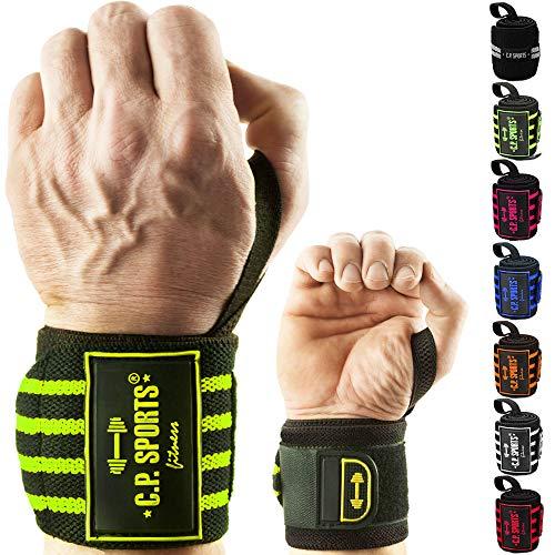 C.P. Sports Handgelenkbandagen DAS ORIGINAL/Bänder/Bandagen Bodybuilding, Handgelenkbandage, Fitness (sw-pink)