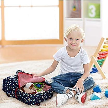 51QcIqjEkqL. SS416  - Mochila Infantil, Kasgo Mochila Preescolar Personalizada para Niños y Niñas Kindergarten Bolsa Escolar Niños