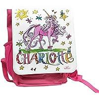 Kindergartenrucksack mit Namen, Einhorn, Unicorn, Rosirosinchen, personalisierter Kinderrucksack