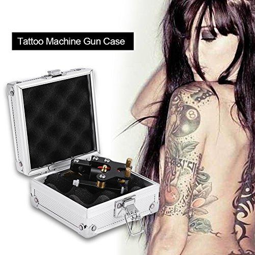 Tattoo maschinengehäuse, aluminium tragen lagerung elektronik verpackungsbox mit schloss oder kosmetikerinnen, tattoo künstler, salon hobbyisten - Billige Tätowierungs-tinte