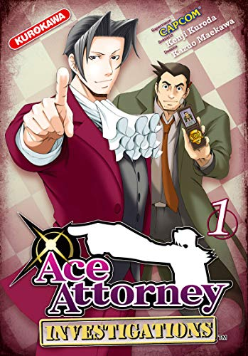 Ace Attorney - Investigations Vol.1 par KURODA Kenji