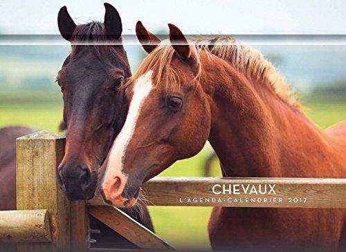 L'agenda-calendrier chevaux 2017 por Collectif