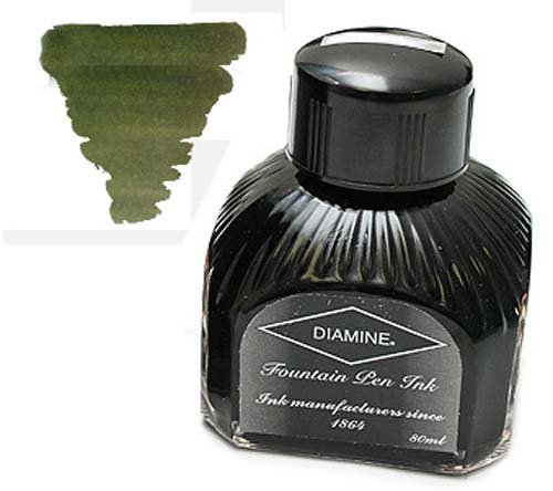 Diamine Refills Salamander Bottled Ink 80mL - DM-7101 by Diamine -