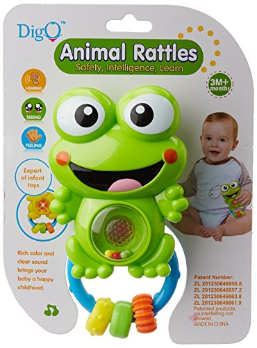 Toyhouse Rattle Series with Light - Frog shaped