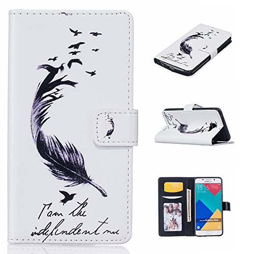 Linvei Handytasche for Samsung Galaxy S7 flip leder handyhülle mit Bunte Printing Muster Wallet Case und TPU Inner Backcover Color 3