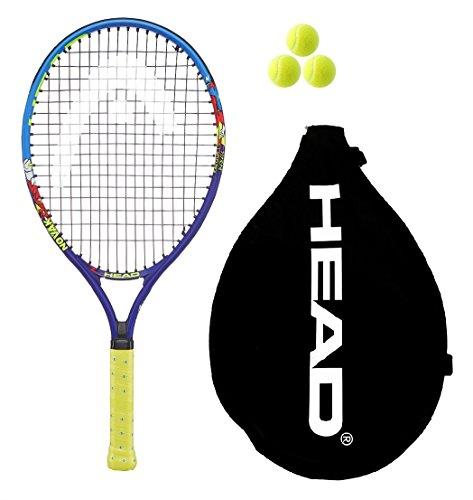 """Head Novak Junior 48.799.305,5cm Tennis Schläger + 3Bälle (2018), 21"""""""