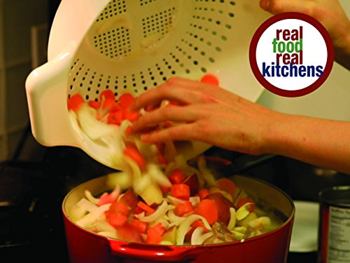Real Food Real Kitchens Cover