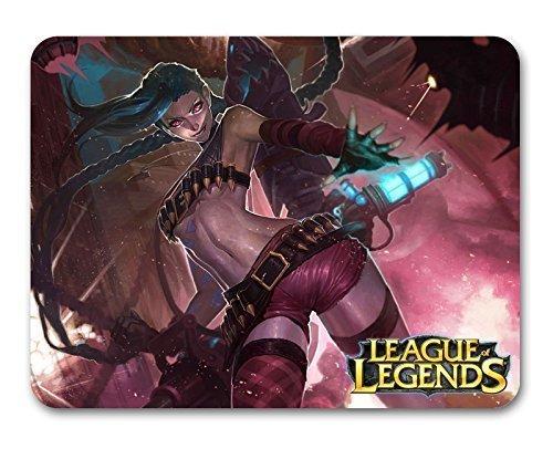 Jinx Fanart Skin ( B ) Mousepad LOL - League of Legends Alfombrilla de Ratón