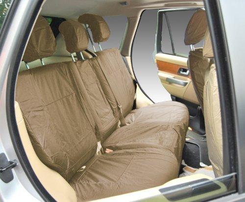 Vordersitzbezug für PKW Modell Range Rover Sport 2005-2010, Rechtsverkehr, strapazierfähig, wasserdicht, beige - INK-WSC-3548