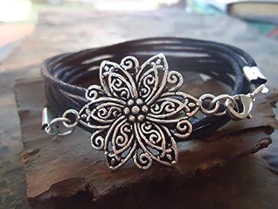? STAR MANDALA ? bracelet à fleurs