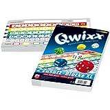 NSV - 4021 - QWIXX ZUSATZBLÖCKE, XL Format, 2 Stück a 80 Blatt - Würfelspiel