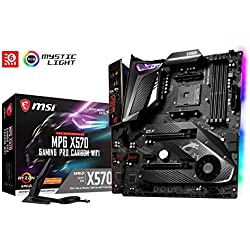 MSI MPG X570 Gaming Pro Carbon WiFi (Prise AM4/X570/DDR4/S-ATA 600/ATX)