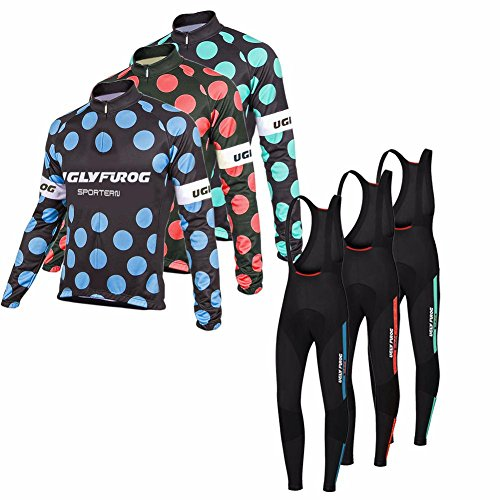uglyfrog-cycling-jersey-long-sleeve-long-bib-tight-suit-mens-full-zip-spring-style-ktm-triathlon-clo