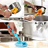 HOME CUBE 1 Pc Cleaning Scrubber with Ha...