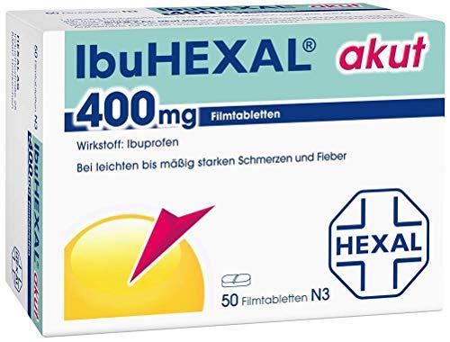 IbuHEXAL akut 400 mg, 50 St. Filmtabletten -