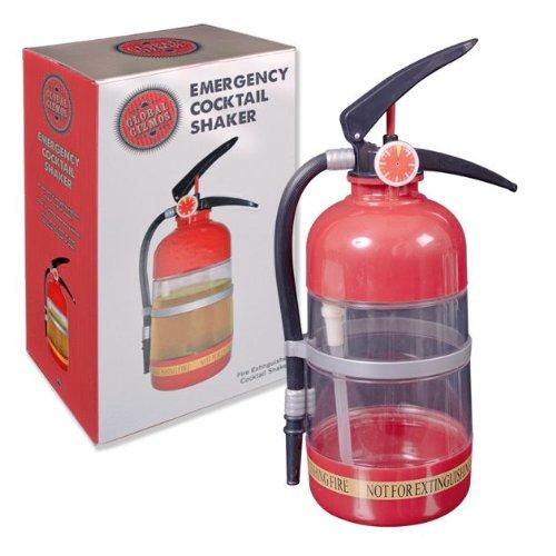 Benross 52760 - Shaker per cocktail a forma di estintore Global Gizmos