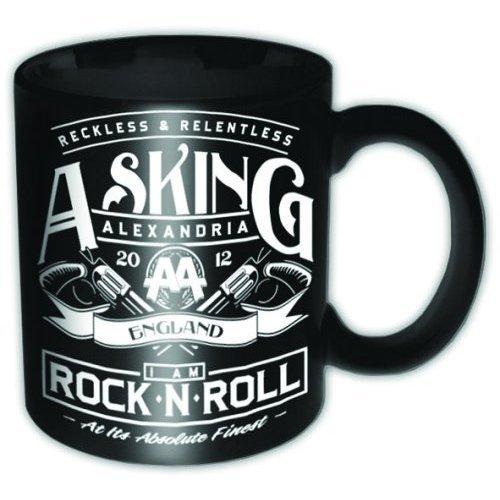 Asking Alexandria Rock N Roll Ceramic Boxed Mug (Ben Bruce Poster)