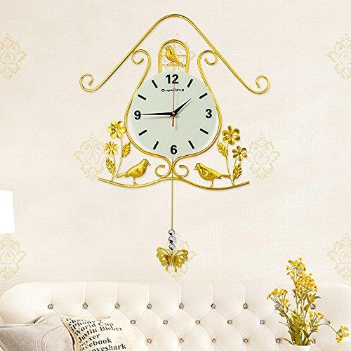 Mmynl.c non vola silenzioso matt moderno orologio a parete fai da te per soggiorno camere cucine ufficio quadrante luminoso