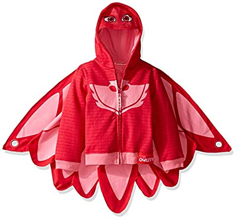 PJ Masks Owlette Toddler Girl's Zip-Up Mask Hoodie (4T)