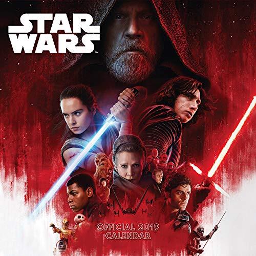 Star Wars: Episode 8 The Last Jedi Official 2019 Calendar -