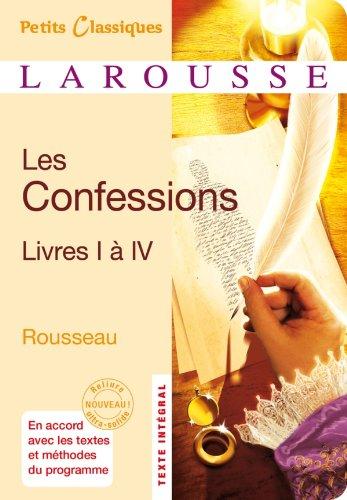 Les Confessions, livre I à IV
