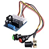 DC Motor Speed Controller,Quimat 7-30V DC 10A 300W PWM Speed Adjustable Reversible Switch / DC Motor Driver Reversing Switch QY13