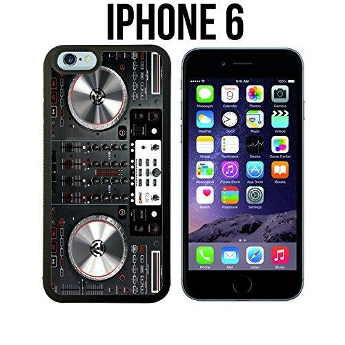 OUUcase DJ controller, Custom made Case/cover/skin für iPhone 6, schwarz, HD design Schutzhülle/Hartschale für für