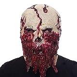 SCLMJ Halloween Airsoft Maske Horror Scarry Latex Maskd Schädel Zombie