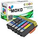 5 XXL Patronen kompatibel zu Epson : Epson Expression Home XP 30 / XP 302 / XP 305 / XP 312 / XP 313 / XP 315 / XP 322 / XP 325 / XP 33