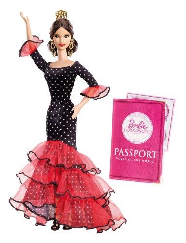 Barbie - Muñecas del mundo: España (Mattel X8421)