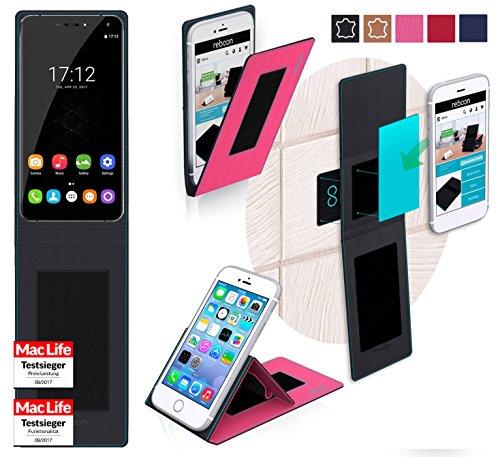 reboon Oukitel U11 Plus Hülle Tasche Cover Case Bumper   Pink   Testsieger