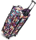 Leichte und Robuste Sport und Reisetasche mit tollem Design und Rollen Farbe Big Owl / 100 Liter