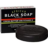 Madina African Black Soap Cocoa Butter w...