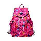 Nuova borsa a tracolla in nylon impermeabile a tenuta stagna borsa femminile panno di alta qualità zaino fungo rosa