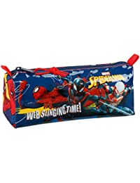SAFTA Estuche Escolar Spiderman Slinging Time Oficial 210x70x80mm