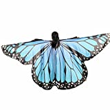 XXYsm Schmetterling Kostüm Zubehör Kinder Baby Mädchen Tanzkostüm Leistung Elf Flügel Umhang M 235 * 170CM