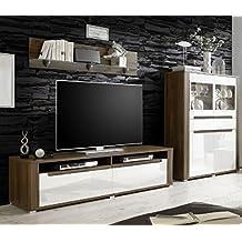 Entzuckend Dreams4Home Wohnzimmer Set U0027Polli IIu0027   Set, Highboard, TV Schrank,