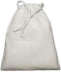 Jassz - Mochila/Bolsa saco o de cuerdas lisa tamaño grande Modelo Birch - Deporte/Gimnasio